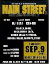 MAIN STREET vol.10 フライヤー